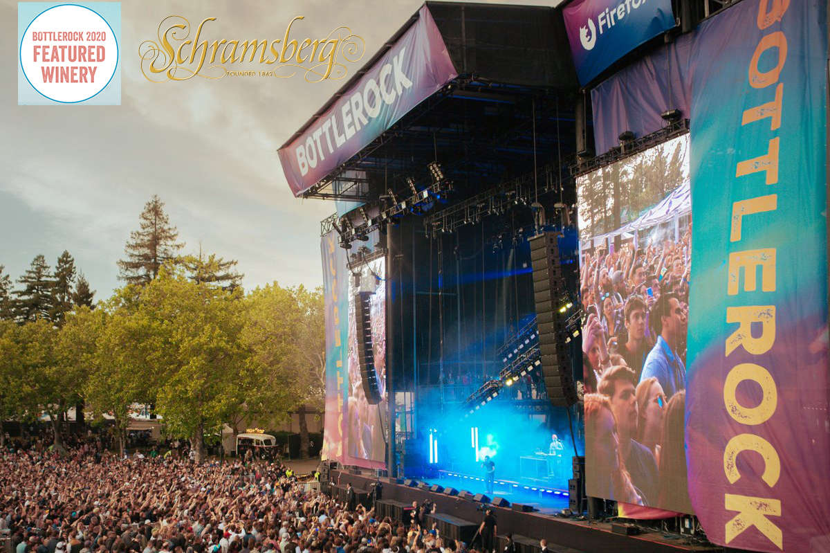 Main stage at Napa Valley Bottlerock