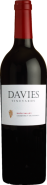 750 ML bottle of Davies Vineyards Napa Valley Cabernet Sauvignon