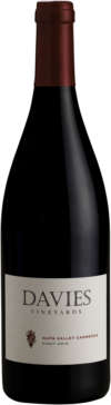 750 ML bottle Davies Vineyards Napa Carneros Pinot Noir