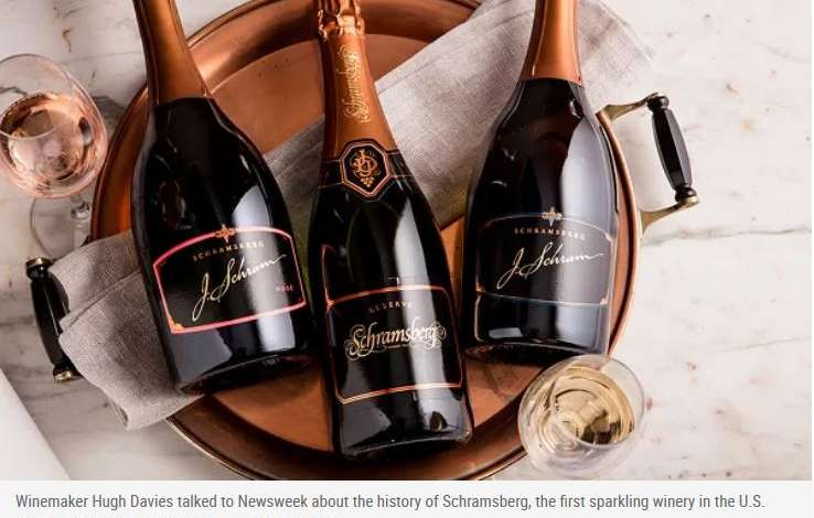 American-made sparkling wine as rich in history as it is in taste - meet Schramserg Vineyards