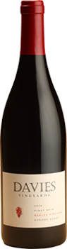 Davies Vineyard Pinot Noir, Nobles Vineyard, Sonoma Coast Bottle
