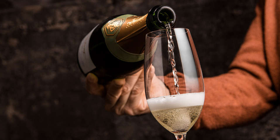 Enjoy a glass of bubbly in our historic Diamond Mountain Caves