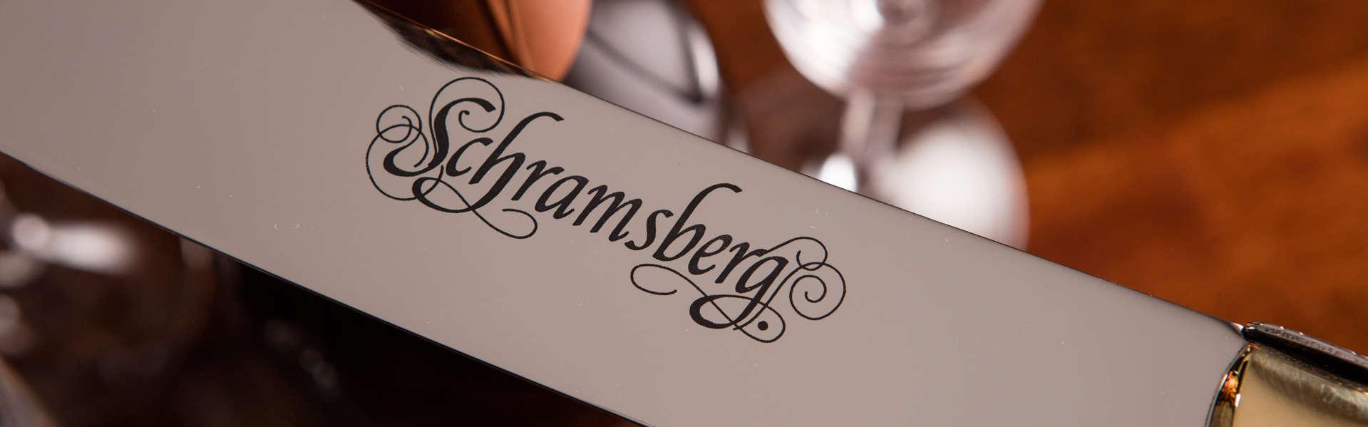 Schramsberg engraved saber blade