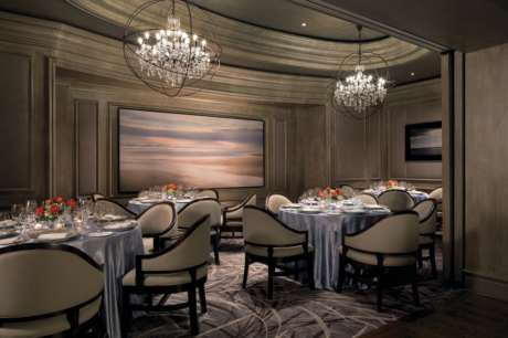 Dining room at The Grill at Ritz-Carlton in Naples, Florida