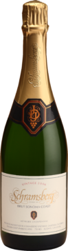 750 ML bottle Schramsberg Brut Sonoma Coast
