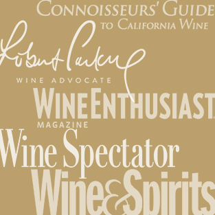 Wine publications' logos