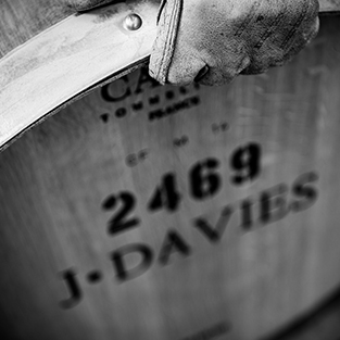 Davies Vineyards oak barrels